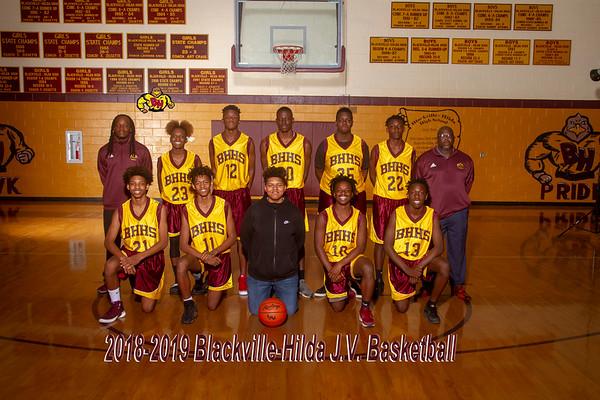 2019 Boys Basketball  JV