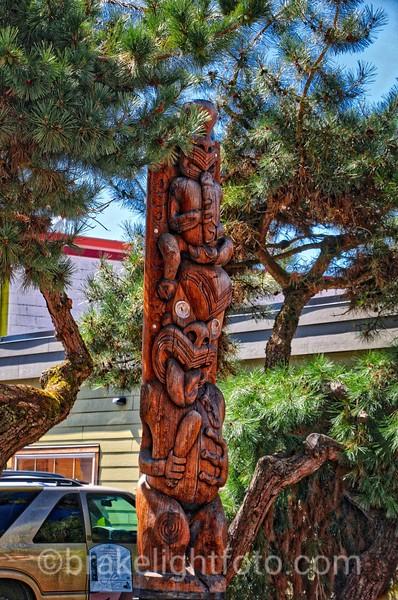 Downtown Duncan Totem Pole