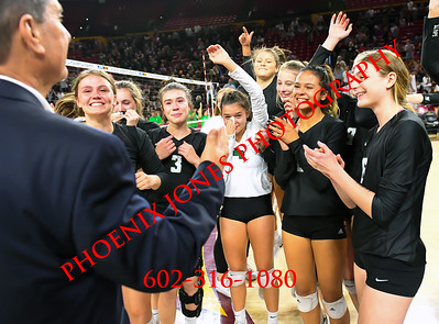 11-12-19 - AIA 5A Volleyball Finals - Awards - Sunnyslope v Millennium
