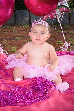 Rose first birthday