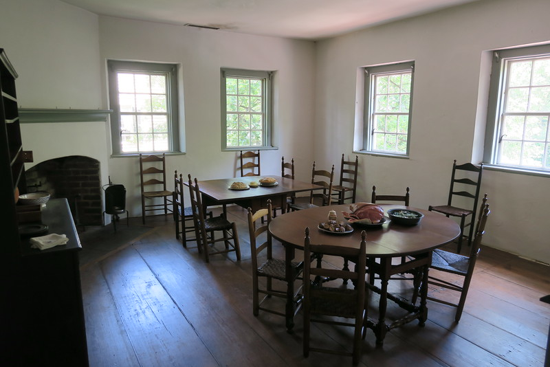 Salem Tavern (ca. 1784) -- Upstairs Room