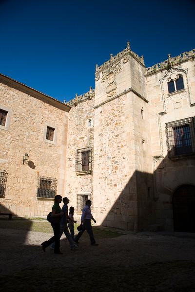 Golfines de Abajo Palace, Caceres, Spain