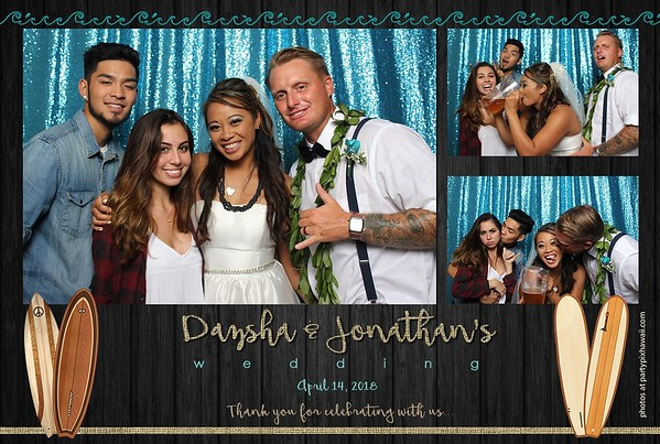 Dazsha & Jonathan's Wedding (Mini Open Air Photo Booth 2)