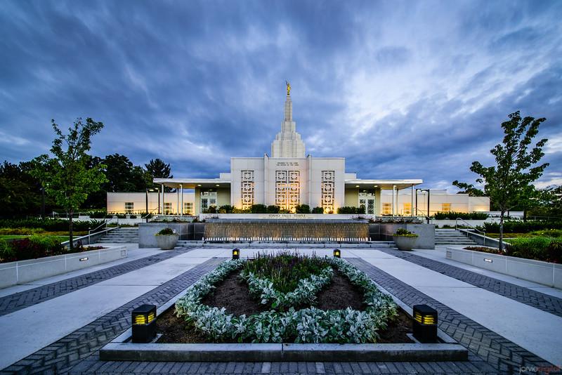 Idaho Falls Temple - Front