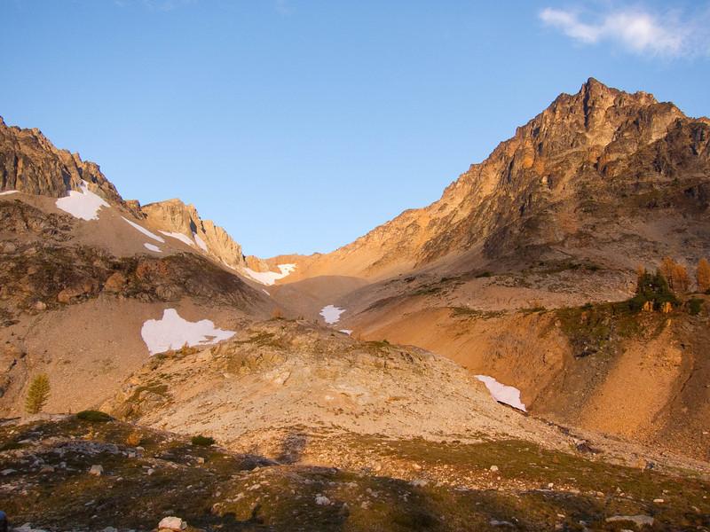Sunrise on Black Peak