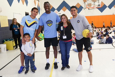 Championship-bound Locos visit Hughey Elementary