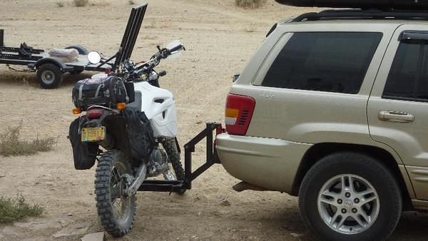 Moto Jack Rack