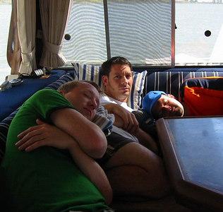 September 04: Boating on the delta