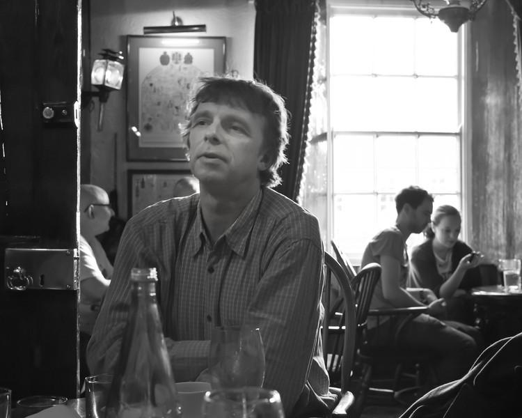 Richard Hingley, archaeologist, Romaldkirk, Teesdale, November 2011