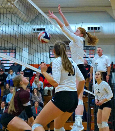 PDC @ Dodgeville Volleyball 10-22-19