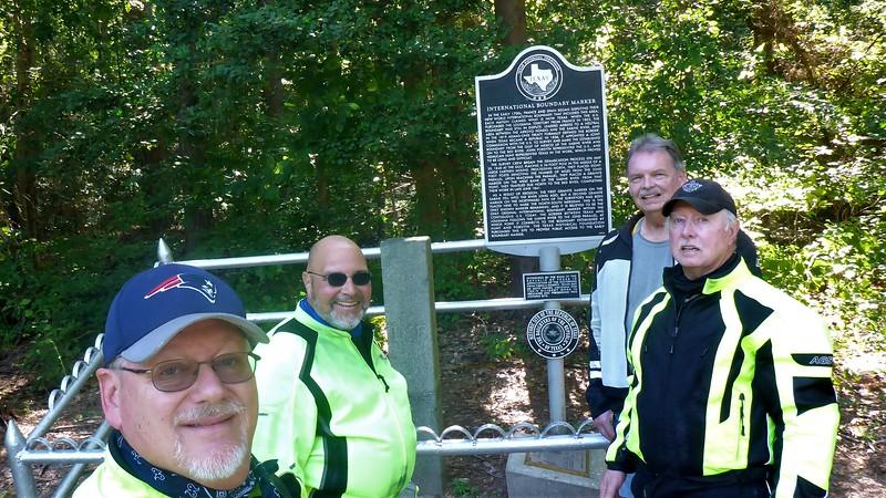 Me, Mike V., Randy S., and Rick B.