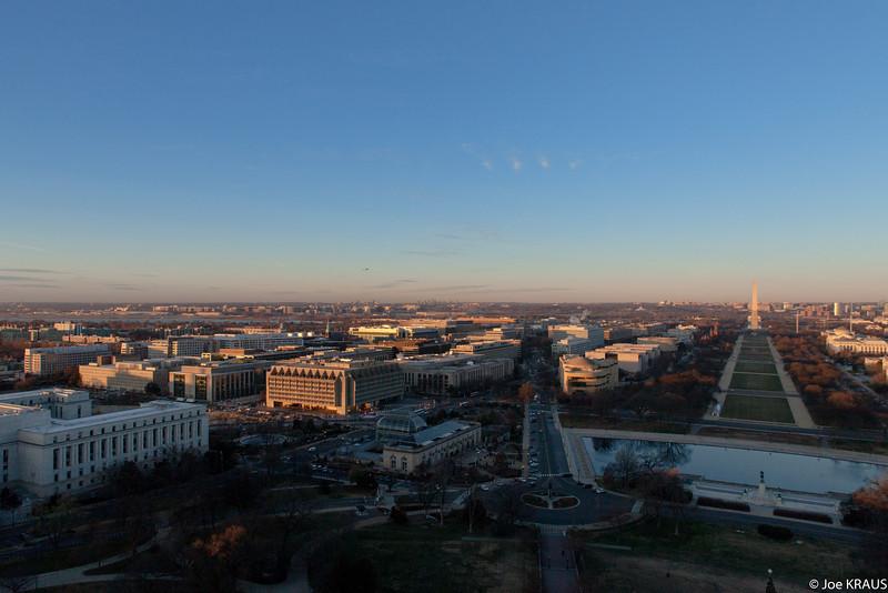 Sunrise over Washington