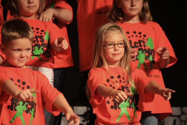 2010 Children's Musical:  Let's Rock