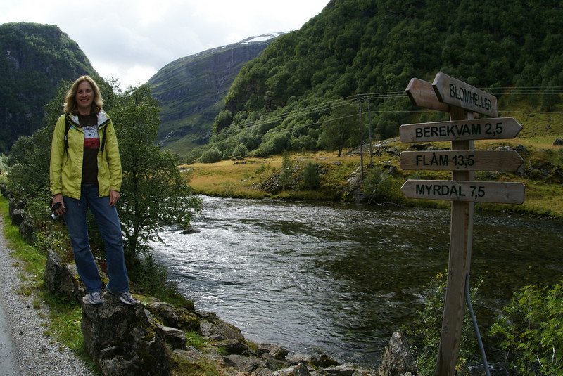 By the Flam River.