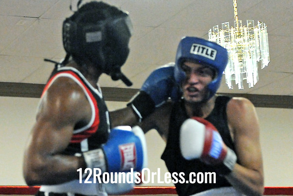 Bout 8 James Rogers, New Castle, PA -vs- Julio Montanez, United City Boxing 178 lbs