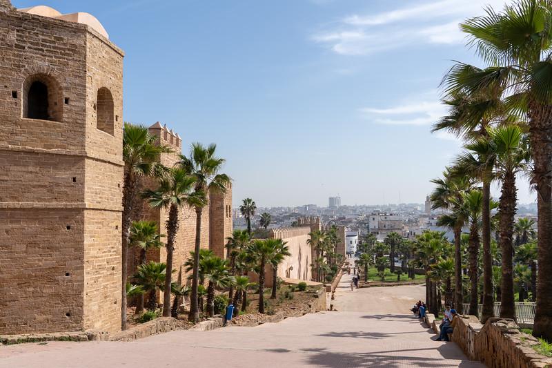 Kasbah of the Udayas in Rabat