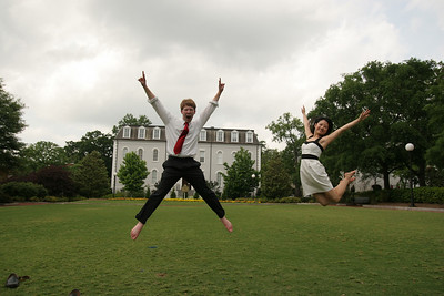 2009 UGA Graduation - John David & Jean