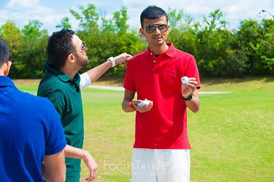 Shashi Golfing