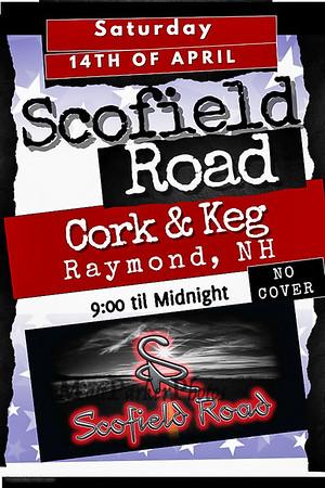 2018-4-14 Scofield Road Band at the Cork and Keg