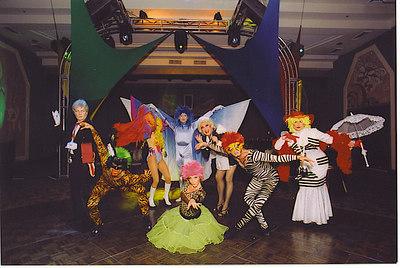 Cirque de Soliel Theme Cocktail Party