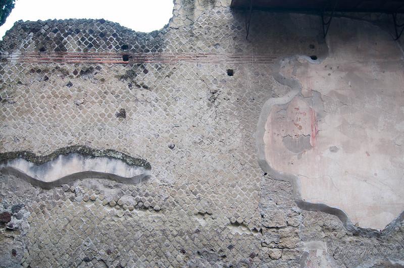 Herculaneum wall