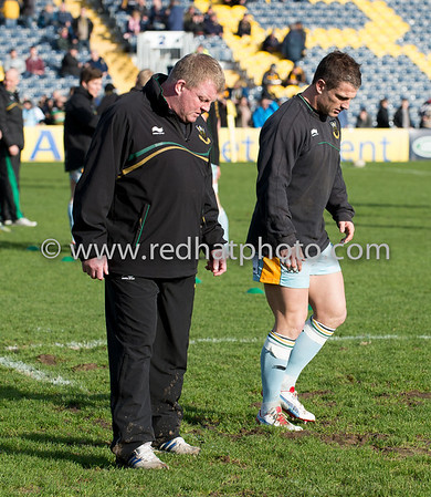 Worcester Warriors vs Northampton Saints, Aviva Premiership, Sixways, 16 February 2013