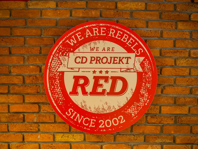 CD Projekt office in Warsaw