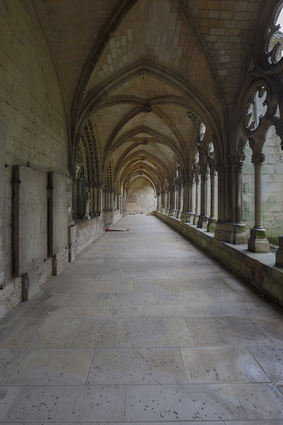 Noyon Cathedral Cloister Aisle