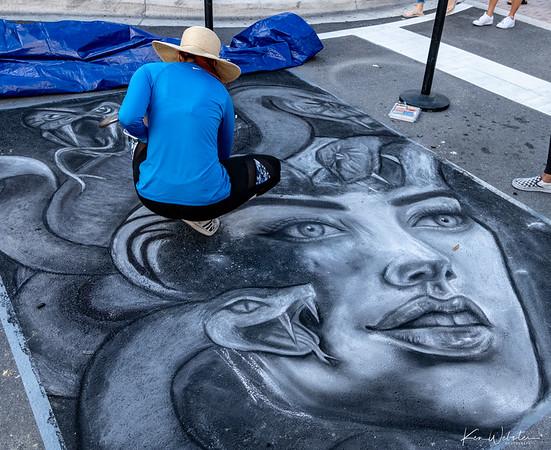 2020 Lake Worth Street Painting Festival