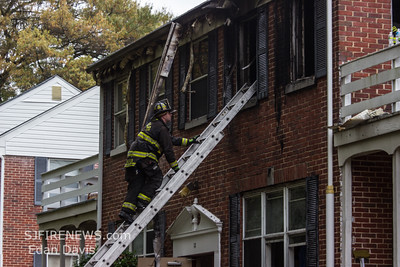 10/23/2014, All Hands Building, Woodbury, Gloucester County NJ, 231 N. Evergreen Ave. Woodlake Apartments.