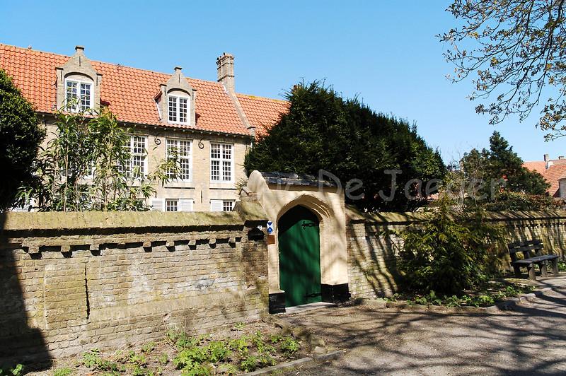 The presbytery (Pastorij) of the Church of Saint Walburga (Sint Walburgakerk) in Veurne, Belgium.