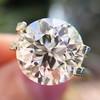 3.86ct Old European Cut Diamond GIA K VS2 30