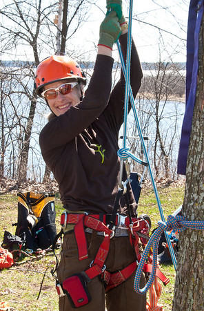 Women's Tree-climbing Workshop 4 @ Indian Point