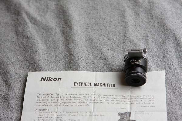 Nikon Eyepiece Magnifier