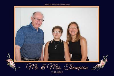 Thompson Wedding