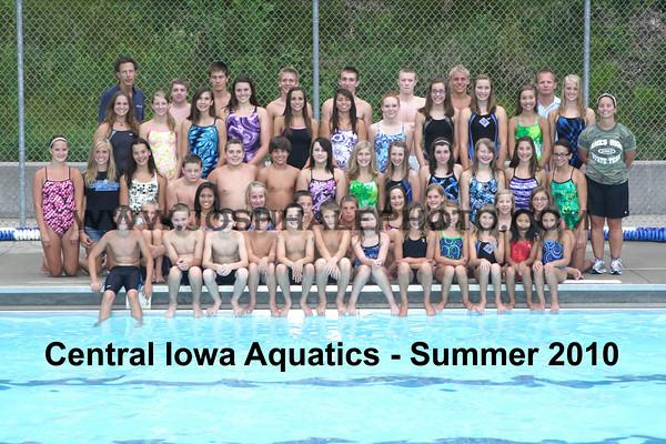 CIA Summer 2010 Team Photo