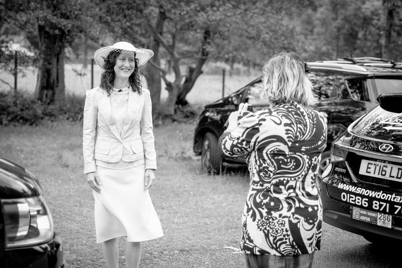 Meanwhile, Jasmijn's party met at Nantperis Maes Parcio car park (between Llanberis and Pen-y-Pass) at 08:30am