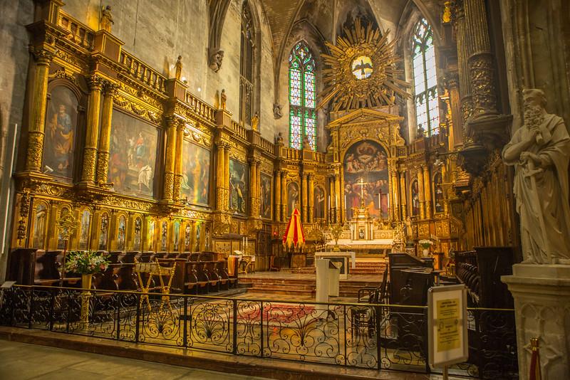 Cathedral in Avignon
