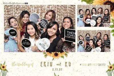 Erin & Ku's Wedding (Mini LED Photo Booth)