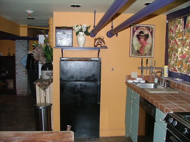more basement kitchen