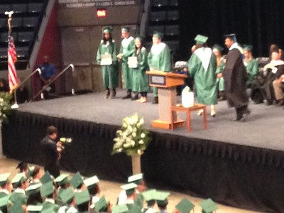 Michael graduation
