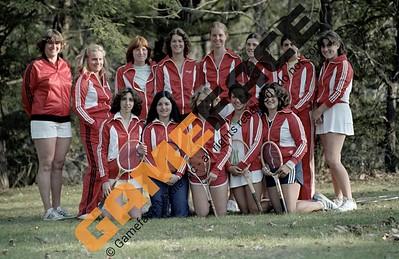 1978-1979 Women's Tennis