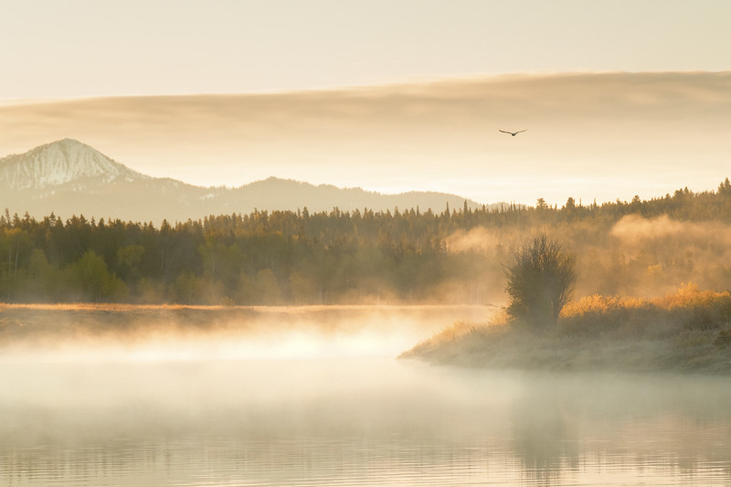 Sunrise in the Tetons