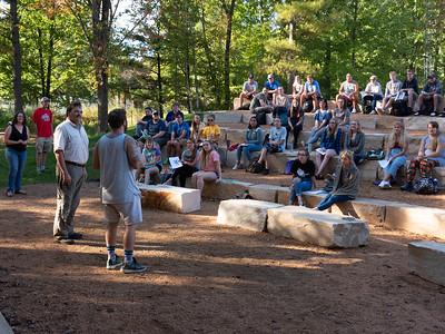 Schmeeckle Amphitheater Class