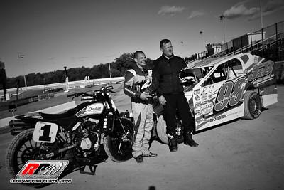 Weedsport Speedway - American Flat Track - 7/6/18 - Jay Fish