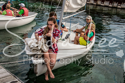 2014 Little Traverse Sailors Sailing School - Harbor Springs - Week of August 4 AM Session - Point Day