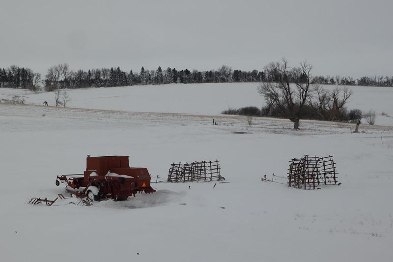South Dakota Baler In April