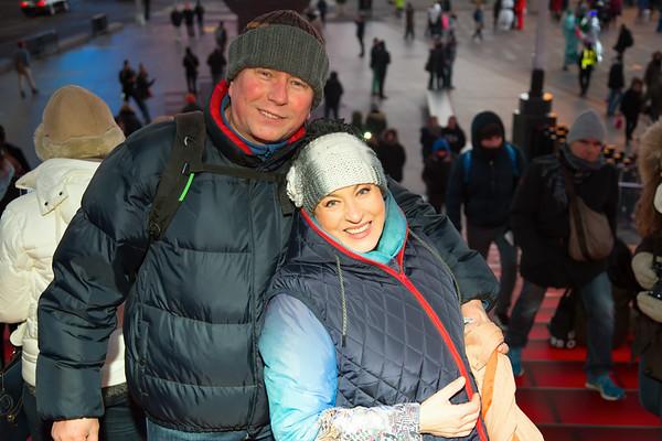 Photo shoot in Manhattan with Maria Dragomiroiu - January 5, 2015