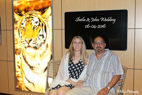 Sheila & John's Wedding Photo Booth