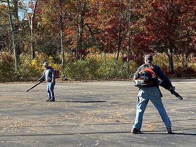 10/26 Firemans Field Parkinglot Work